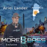 More Bass Exclusive Mix, Episode Seven - Ariel Lander from Argentina (Deep House) morebass.com
