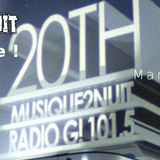Musique2nuit #20 / Radio G! - Musique2nuit fête sa XXème ! (09.06.15)