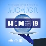 House Music Menu #19 - Sr.Johnson