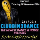 Allard Eesinge - Clubbin2Dance (22-11-2014)