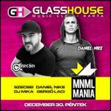 2016.12.30. - MNML MANIA - GlassHouse Disco, Harta - Friday