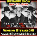 RW069 - THE JOHNNY NORMAL RADIO SHOW - 30TH MARCH 2016 - RADIO WARWICKSHIRE