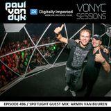 Paul van Dyk - Vonyc Sessions 496 (25.02.2016) Spotlight Guest mix Armin van Buuren