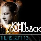 John Dahlback – Live at Josephine (Washington DC) – 13.09.2012