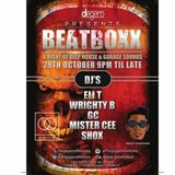 DJ Shox - Beatboxx Promo Mix - Oct 2016