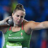 Márton Anita bronzérmes súlylökő: boldog vagyok!