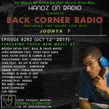 BACK CORNER RADIO: Episode #292 (Oct 12th 2017)