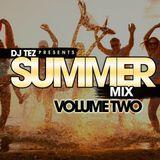 DJ TEZ  Summer MIX Vol 2  (2015) FREE DOWNLOAD