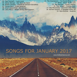SONGS FOR JANUARY 2017