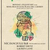 The BPM Festival / Nic Fanciulli b2b Carl Cox @ Kool Beach / 2013.Jan.7th / Ibiza Sonica