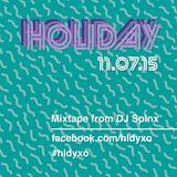 Holiday Mixtape 002:  DJ Spinx