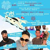 THE CLINIC BOAT RIDE PROMO MIX BY DJ WILLY CHIN (BLACK CHINEY)