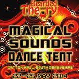 Indigo Herder DJ set Bearded Theory Festival Magical Sounds Dance Tent 25.05.16