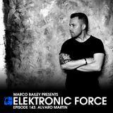 Elektronic Force Podcast 143 with Alvaro Martin