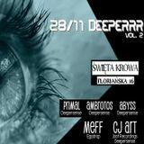 Primal - Deeperrr & Deeperrr (party @ Święta Krowa, Kraków 28-11-2015)