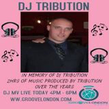 Dj Mv - Special Tribute Show (Rip Dj Tribution) (Groovelondon Radio Friday 15th March 2019)
