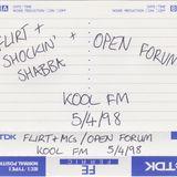 Kool FM Open Forum 94.5FM - 05.04.1998 - Eastman, Ash & Mystery (?)