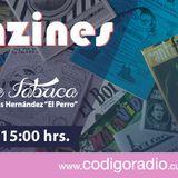 """Radio La Fábrica entrevisto al """"Diana de Pinche Chica Chic y a Artúur sobre Fanzine"""" el día 18 de Ma"""