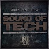 Hi Tek Records Podcast - Sound of Tech 082 with AndReew (Live)