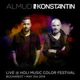 Almud & Konstantin live @ HOLI Music Color Festival (Bucharest - May 31st 2014)