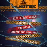 Splatter Set Stage II (Agora Live) 21/11/2014