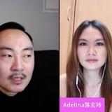 Adelina show with Kenny Yee