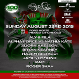 Roger Shah – live @ #FSOE400 in Foro Norte, Mexico City (23.08.2015)
