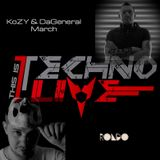 KoZY & DaGeneral - This is Techno Live - March