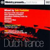 Seb Fontaine - Dutch Trance (1999)