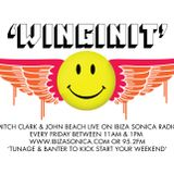 MITCH CLARK & JOHN BEACH WINGINGIT IN TRUE STYLEE.. RECORDED LIVE FORM  SONICA RADIO STUDIOS IBIZA .