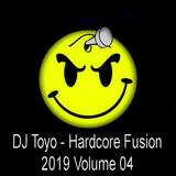 DJ Toyo - Hardcore Fusion 2019 Volume 04