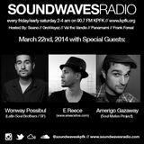 Soundwaves Radio - March 22, 2014 - Amerigo Gazaway, E Reece, Wonway Posibul