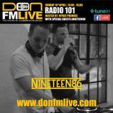 Radio 101 | Mykee Phunkee & Craig (of NINETEEN86) | 15/04/18