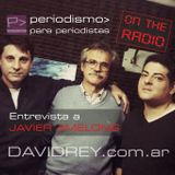 P> ON THE RADIO -02- 28-09-17 - Entrevista a Javier Amelong