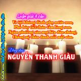 Lg4C: Vì tội không đành phụ nước non-Nguyễn Thanh Giàu