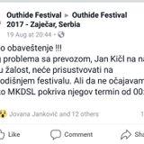 Live @ techno stage, Outhide festival, Zajecar
