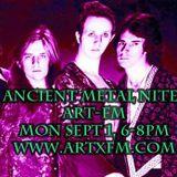 Moldy Music Radio Time: Ancient Metal Nites 09.01.14