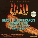 Dillon Francis - Hard Summer Red Rocks Amphitheatre, Global Dance Festival, United States 2014-07-31