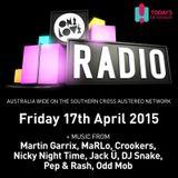 onelove radio 17th April 2015