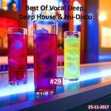 Best Of Vocal Deep, Deep House & Nu-Disco #29 - 25/11/2017