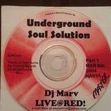 Underground Soul Solution Presents -   DJ Marv Live @ RED DC Part 1 of 3