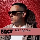FACT mix 348 - DJ Zinc (Sep '12)