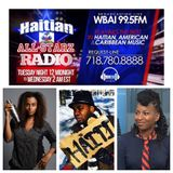 HAITIAN ALL-STARZ - WBAI 99.5 FM - (EPISODE #6) - 2-10-16 - GUESTS: PAPA JEAN & MICHOU ANGUS
