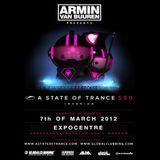 ASOT550 - Armin van Buuren - Live at Expocenter in Moscow, Russia (07.03.2012)