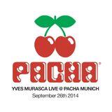 Yves Murasca Live Set @ Pacha (26-09-2014)