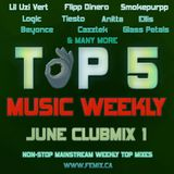 TOP 5 MUSIC WEEKLY JUNE CLUBMIX 1 || 2019