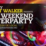 weekend after party 24th September 2018