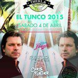 Chris Fortier - Live at Thekla Beach Festival, El Salvador (04-04-2015)