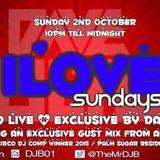 iLove Sundays - Dave Boulton Feat. Alan Roche Live On Pure 107 02.10.2016