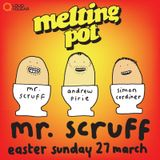Mr Scruff at Glasgow Melting Pot, Easter Sunday 2016